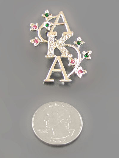 SORORITY A.K.A.  SILVER BROACH-AKA, BROACH