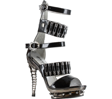 BULLET PROOF SANDALS - BLACK-