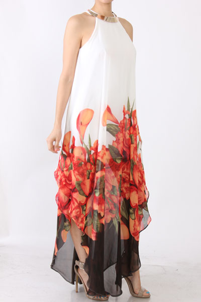 CHRISETTE MAXI DRESS-