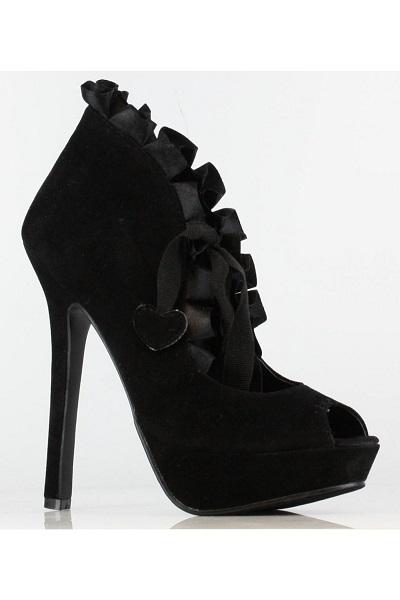 CLARISSA BOOTIES - BLACK-