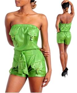 GREEN & GOLD SHORTS JUMPER-green, gold, jumper, shorts, set, shortset