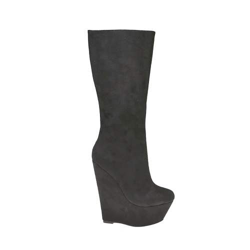 EVELYN WEDGE BOOTS-HALEY-21