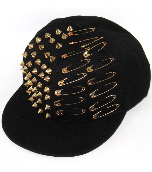 SPIKE STUDDED HAT - VARIOUS COLORS-