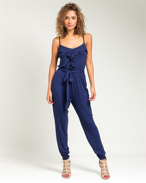 JUSTICE JUMPSUIT - NAVY BLUE