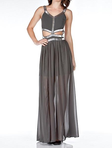 KAYLIN LUX MAXI DRESS-