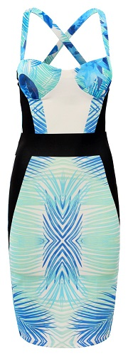 LYDIA TROPICAL DRESS-