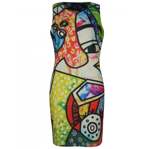 PIECE OF ART DRESS-