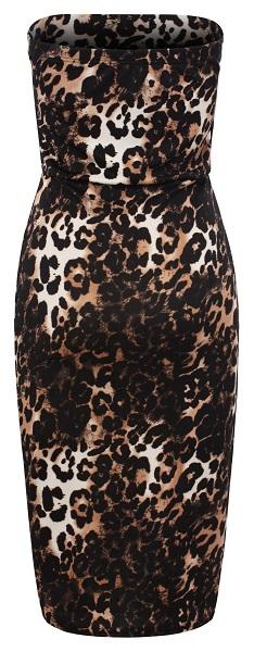 TAMARA LEOPARD PRINT DRESS-