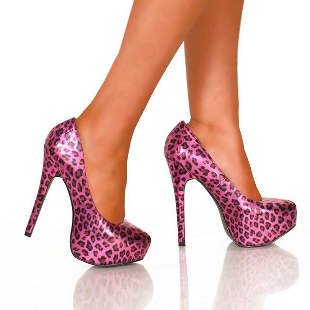 GRACY BOSS CHEETAH PUMPS - FUCHSIA-leopard pump, heel, highest, kissable