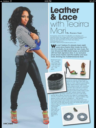 Glam Shop Online featured in Hype Hair Magazine
