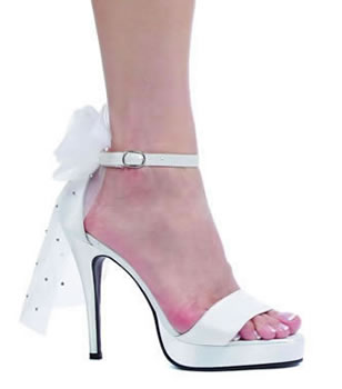 HEAVENLY BRIDE HEELS-451-BRIDE, ellie, wedding, bride, heel, white