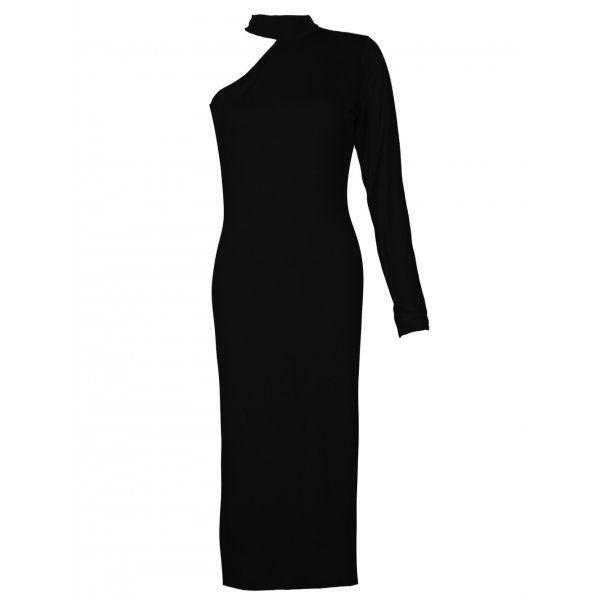 ALEXANDRA DRESS - BLACK-
