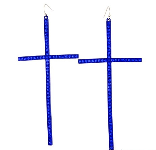 HAUTE CROSS EARRINGS-