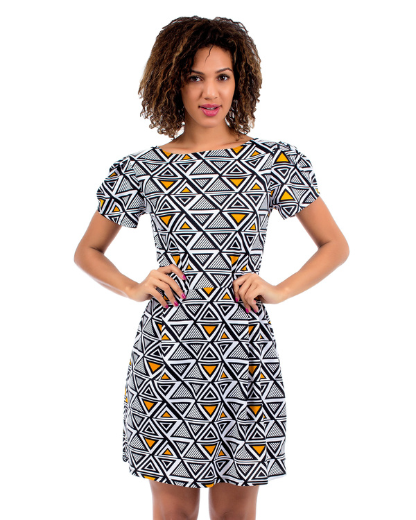 CANDICE TRIBAL DRESS-