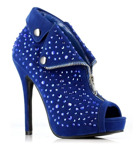 CASSIDY BOOTIE - BLUE-