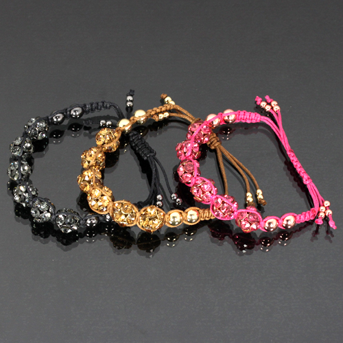 CELEB PURE HONESTY BRACELET-RB15814, GOLD, BROWN, PINK, COAL, HONESTY, BRACELET