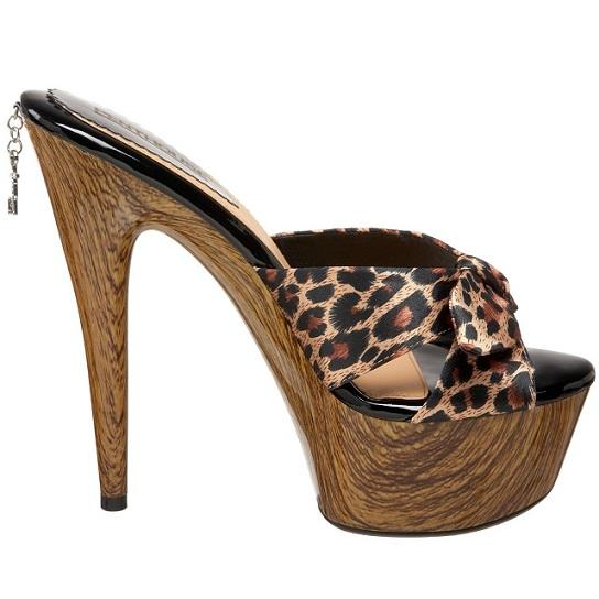 CLEO WOOD SANDAL - LEOPARD-leopard, cheetah, sandal