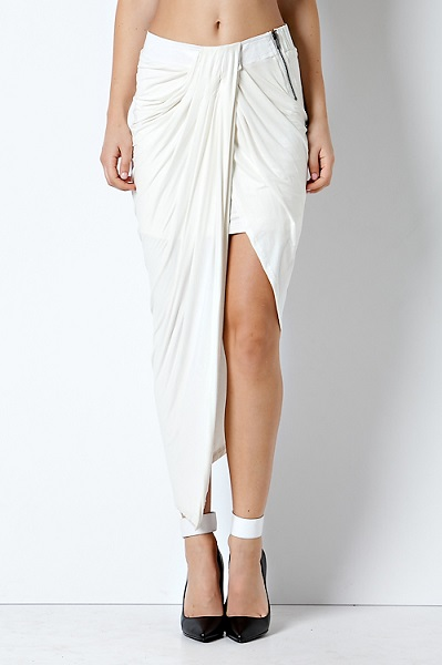 DESTINEE SKIRT - OFF WHITE-