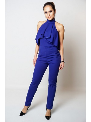 ELSA JUMPSUIT - BLUE-