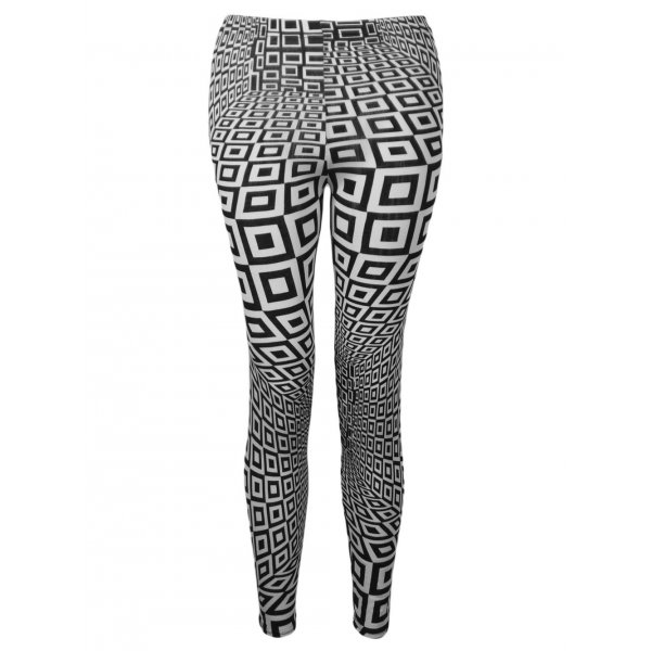 FOCUS MONOCHROME LEGGINGS-