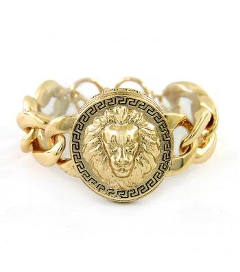 LIONESS BRACELET - GOLD OR SILVER-