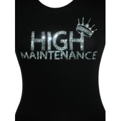 HIGH MAINTENANCE - SHORT SLEEVE-