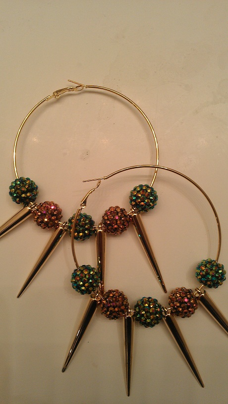 SORORITY A.K.A. BASKETBALL WIVES INSPIRED SPIKE HOOPS-AKA, BASKETBALL, HOOP, SPIKE