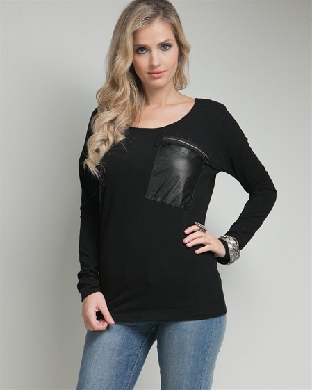 JOHNAE GLAM TOP-