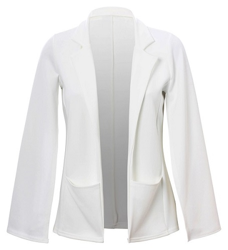 KARI CAPE JACKET - OFF WHITE-