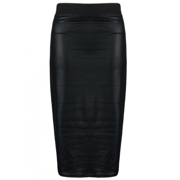 KARINA HIGH WAIST PENCIL SKIRT-