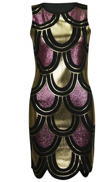 KARMEN COCKTAIL DRESS - BLACK-