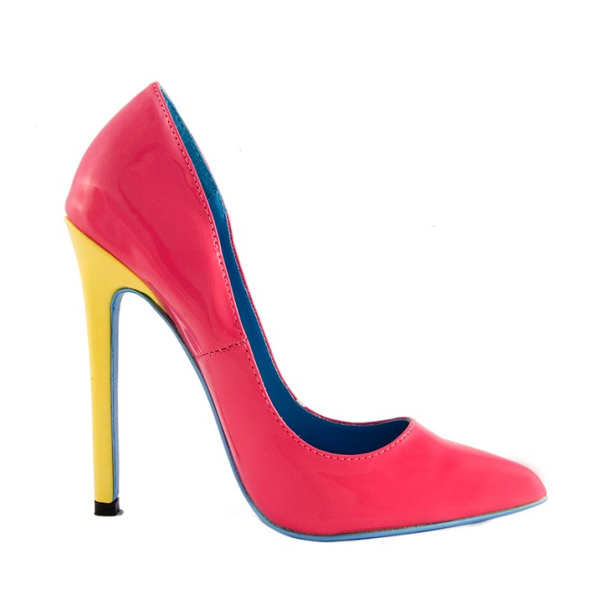 KATY PUMP - PINK-PINK, PUMPS, KATY, HEEL