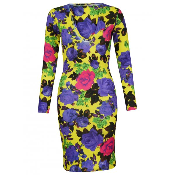 KIMBERLY FLORAL DRESS-