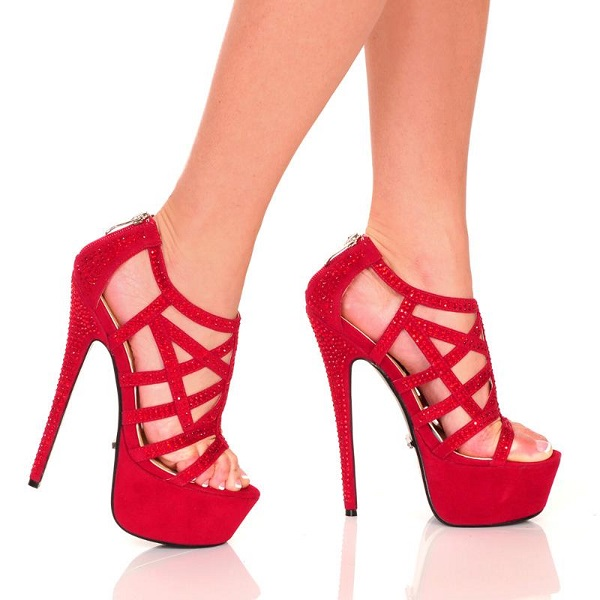 MICHELLE STRAPPY RHINESTONE SANDALS - RED-BOMBSHELL-21