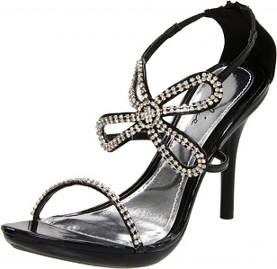 MONA SANDAL - BLACK-431-MONARCH