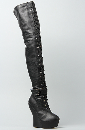 OPAL THIGH-HIGH BOOTS-