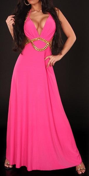 PRINCESS MAXI DRESS - PINK-