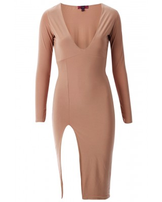 RAYNEL CHIC DRESS - NUDE (PRE-ORDER)-