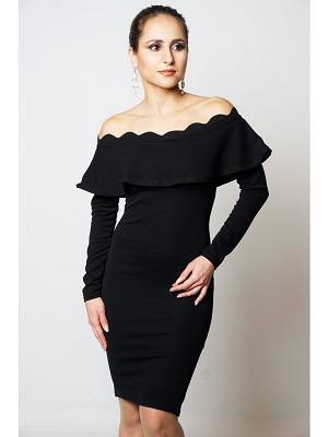 RILEY DRESS - BLACK-