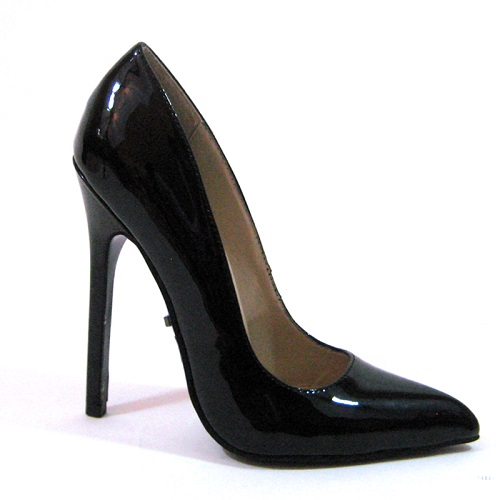 SKAI PUMPS - BLACK PATENT-