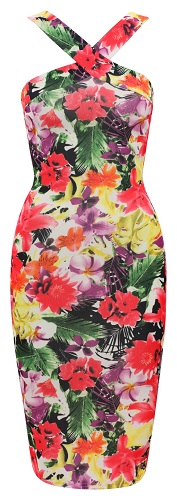 SKYLAR FLORAL DRESS-