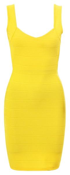 SUNIDA BANDAGE DRESS-