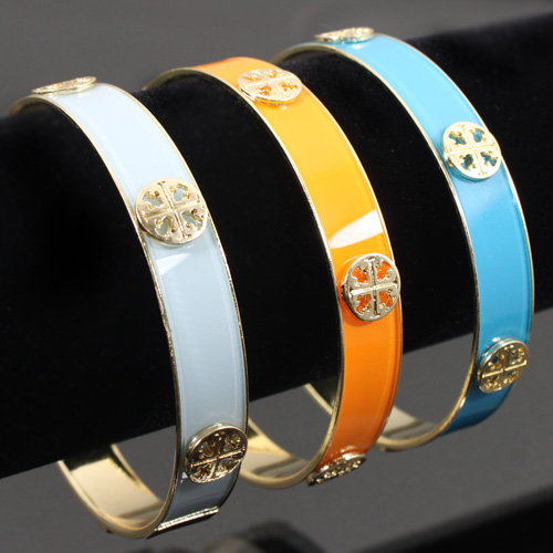 TORY BURCH INSPIRED BANGLES - VARIOUS COLORS-