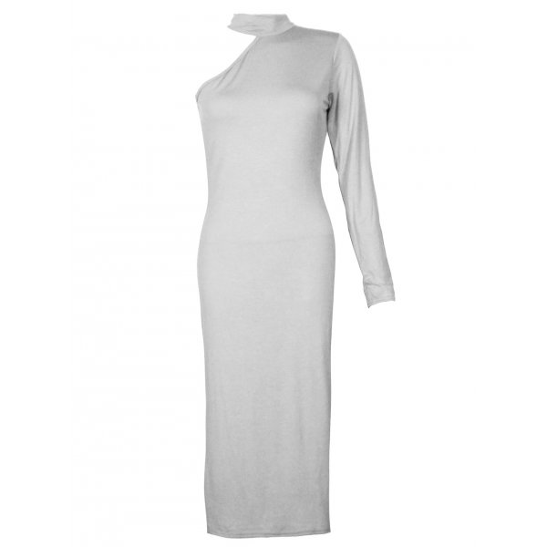 ALEXANDRA DRESS - WHITE-