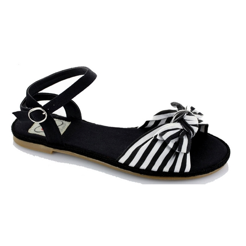 BEACH SANDAL - BLACK-