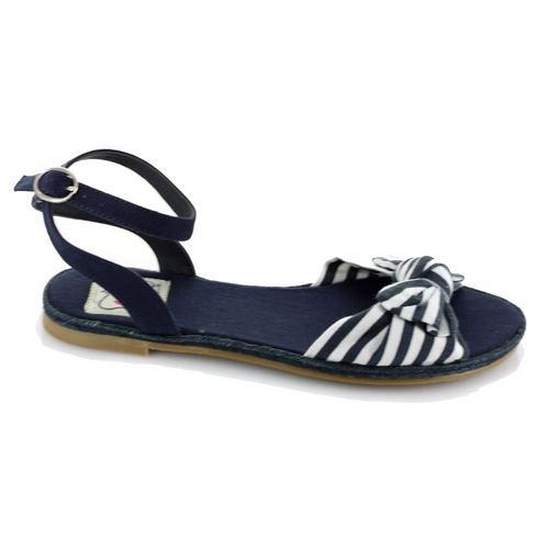 BEACH SANDAL - NAVY-