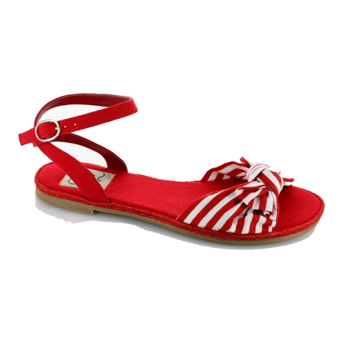 BEACH SANDAL - RED-BP017-EFFIE