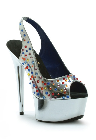 CANDY PUMPS - SILVER-