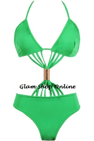 COCO SWIMSUIT - GREEN-