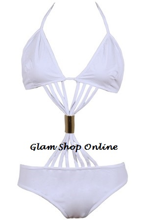 COCO SWIMSUIT - WHITE-